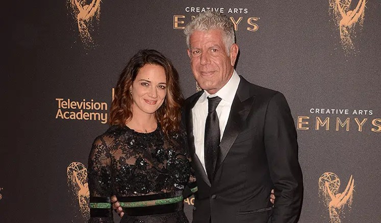 Asia Argento and Anthony Bourdain (Credit: Deposit Photos)