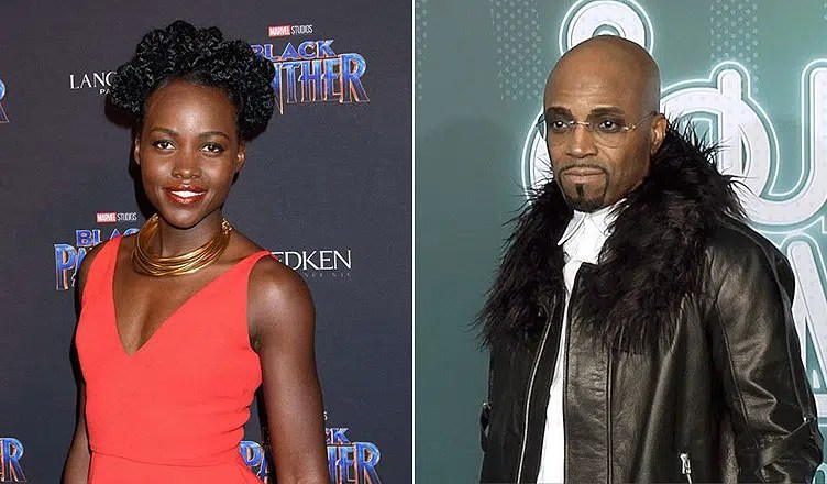 Lupita Nyong'o and Teddy Riley (Credit: YouTube)