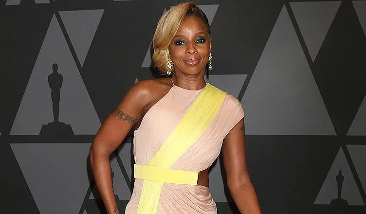 Singer Mary Blige Ampas 9Th Annual Governors Awards Dolby Ballroom (Credit: Deposit Photos)