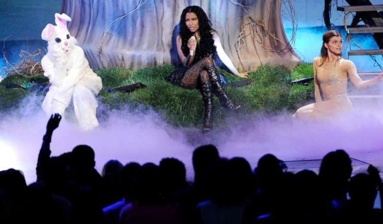 Nicki Minaj performs at the 2014 BET Awards (Credit: YouTube)