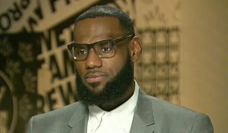LeBron James on CNN (Credit: CNN)