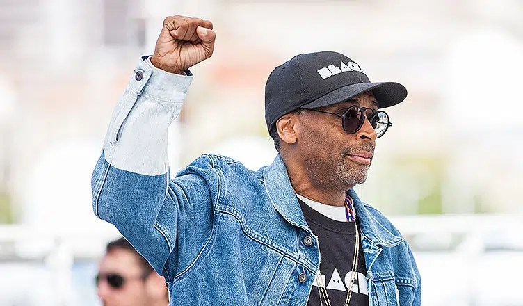 Spike Lee attends the Cannes Film Festival (Credit: Deposit Photos)