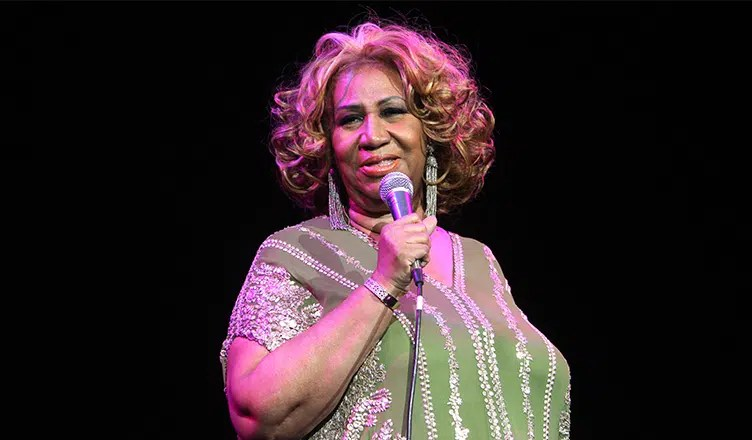 Aretha Franklin performs in concert at Radio City Music Hall on February 18, 2012, in New York. (Credit: Shutterstock)