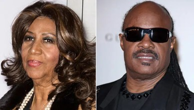 Aretha Franklin and Stevie Wonder (Credit: Deposit Photos)