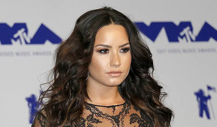 Demi Lovato arrives at the MTV Video Music Awards. (Credit: Deposit Photos)