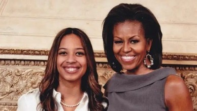 Lyric McHenry and Michelle Obama (Credit: Instagram)