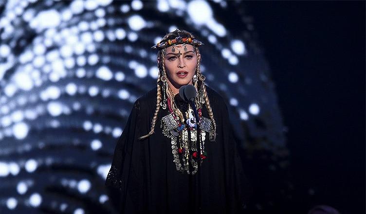 Madonna VMAs Tribute to Aretha Franklin (Credit: YouTube)