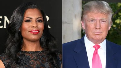 Omarosa and Donald Trump (Credit: Deposit Photos)