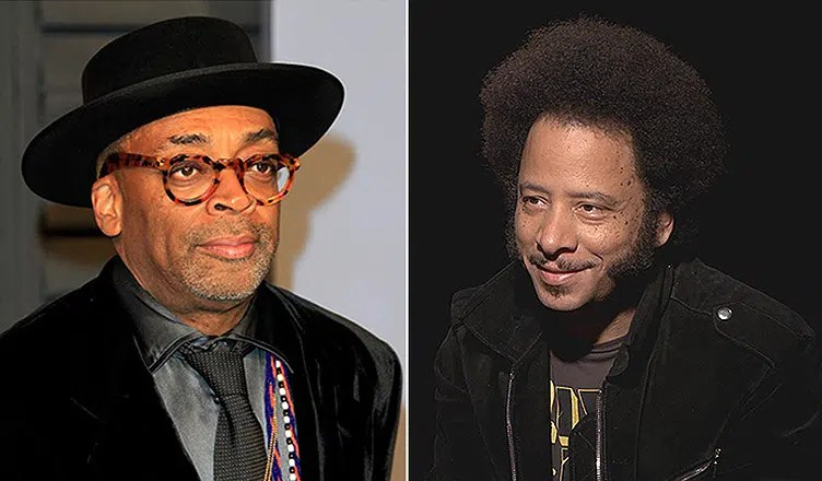 Spike Lee and Boots Riley (Deposit Photos and YouTube)