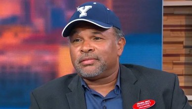"Former ""Cosby Show"" actor Geoffrey Owens appeared on ""Good Morning America"" on Tuesday, Sept. 4, 2018 (Credit: GMA)"