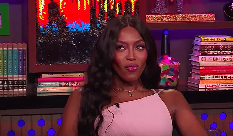 Naomi Campbell slammed Nicki Minaj and Cardi B during a Sept. 26 appearance on Watch What Happens Live. (Credit: Bravo/YouTube)
