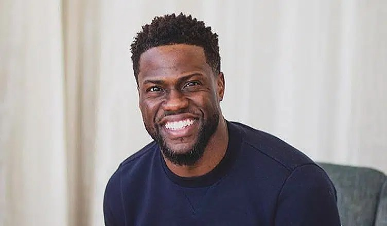 Kevin Hart poses for a picture on February 16, 2018. (Credit: Kevin Hart/Instagram)