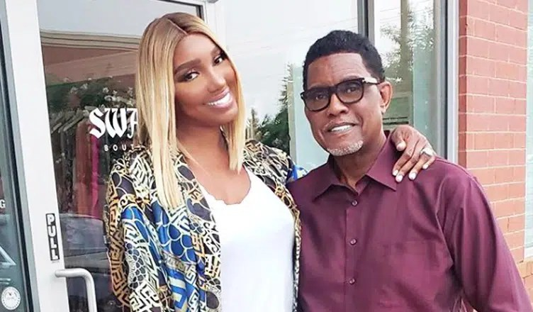 NeNe & Gregg Leakes pose for a picture in August 2018. (Credit: NeNe Leakes/Instagram)