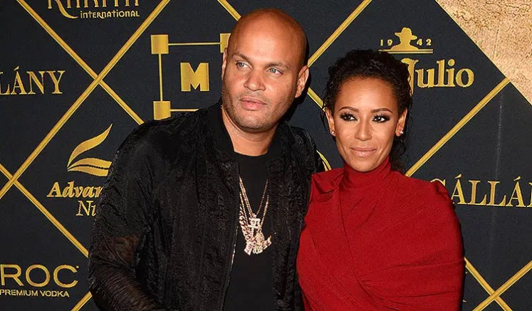Stephen Belafonte and Mel B (Credit: Deposit Photos)