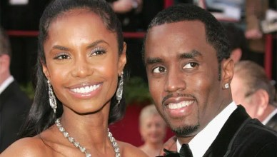 Sean Combs and Kim Porter (Credit: Shutterstock)