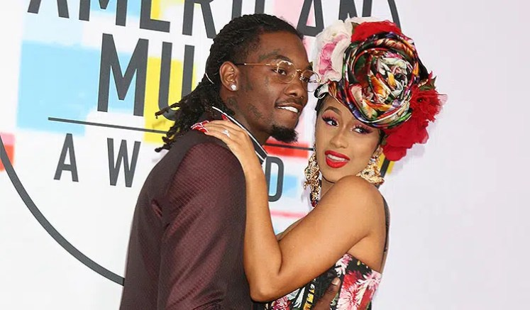 Offset and Cardi B (Credit: Shutterstock)