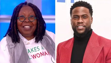 Whoopi Goldberg and Kevin Hart (Credit: ABC)