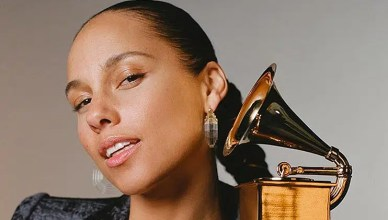 Alicia Keys announced as host of Grammy Awards. (Credit: CBS)