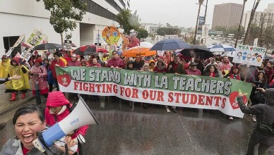 Los Angeles Teachers Strike (Credit: Twitter/ @UTLAnow)