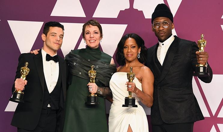 2019 Oscar Winners (Credit: Shutterstock)