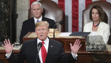 Donald Trump State of the Union Speech (Credit: YouTube)