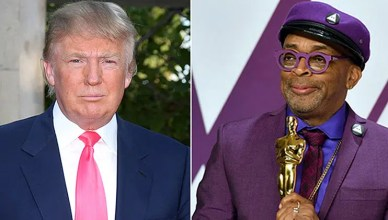 Donald Trump and Spike Lee (Credit: Shutterstock)