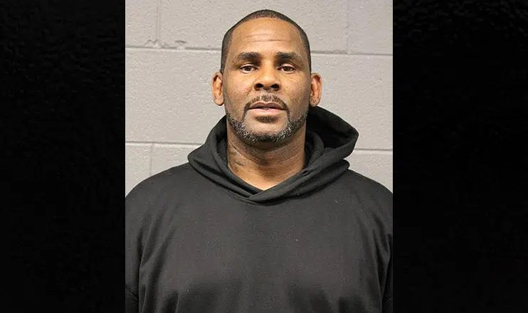 R. Kelly Booking Photo (Credit: Chicago Police Department)