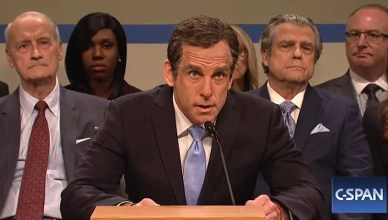 Ben Stiller on SNL on March 2, 2019. (Credit: NBC)