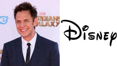 James Gunn and Disney Logo (Credit: Deposit Photos and Disney)
