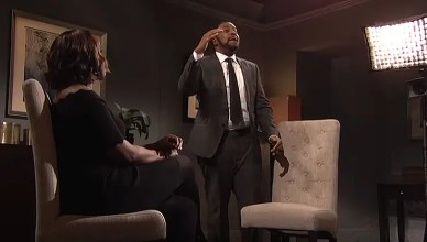 Saturday Night Live R. Kelly Skit. (Credit: NBC)