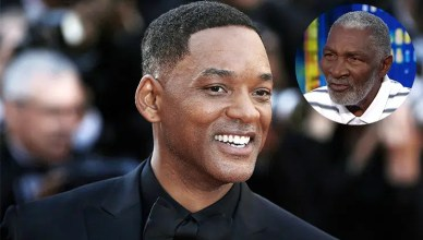 Will Smith and Richard Williams (Credit: Shutterstock and CNN)