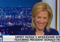 Laura Ingraham Laughs on air about Nipsey Hussle (Credit: Fox News)