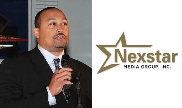 Pluria Marshall Jr and Nexstar Media Logo (Credit: LinkedIn and Nexstar)