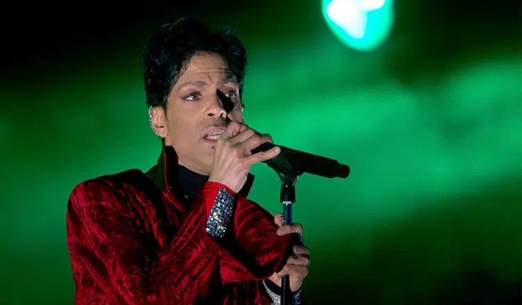 Prince performs on the main stage of the Sziget Festival in Budapest, Hungary, on Tuesday, August 4, 2011. (Credit: Northfoto/Deposit Photos)