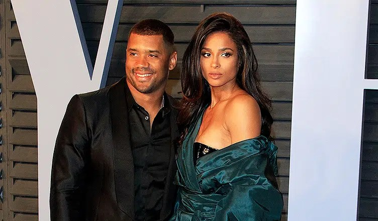 Russell Wilson and Ciara (Credit: Deposit Photos)