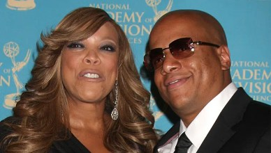 Wendy Williams and Kevin Hunter at the Daytime Creative Emmy Awards at the Westin Bonaventure Hotel in Los Angeles, CA on August 29, 2009. (Credit: Jean Nelson/Deposit Photos)|