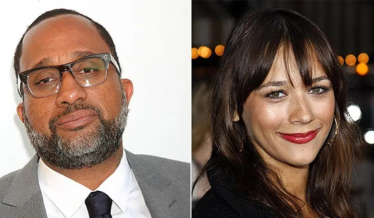 Kenya Barris and Rashida Jones (Credit: Deposit Photos)