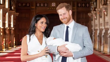 Royal Baby Introduced. (Credit: Shutterstock)