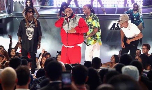 BET Awards 2017 DJ Khaled Performs (Credit: Shutterstock)
