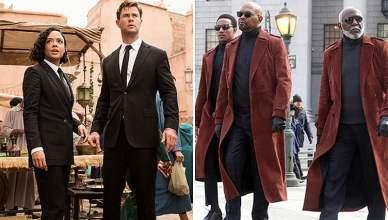 Men in Black International and Shaft (Credit: Sony and Warner Bros.)