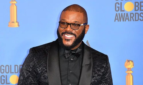 Tyler Perry (LOS ANGELES, CA. January 06, 2019: Tyler Perry at the 2019 Golden Globe Awards at the Beverly Hilton Hotel. (Credit: Featureflash/Deposit Photos)