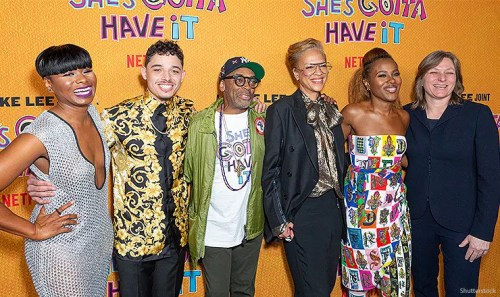 "May 23, 2019: Cast and Crew attend Netflix ""She's Gotta Have It"" Season 2 Premiere at Alamo Drafthouse. (Credit: Shutterstock)"