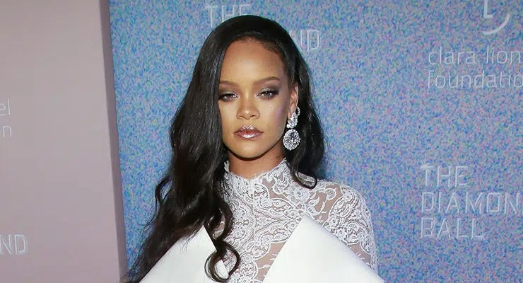 Rihanna at arrivals for The Clara Lionel Foundation 4th Annual Diamond Ball, Cipriani Wall Street, New Yoyrk, NY September 13, 2018. Photo By: Jason Mendez/Everett Collection– Stock Editorial Photography