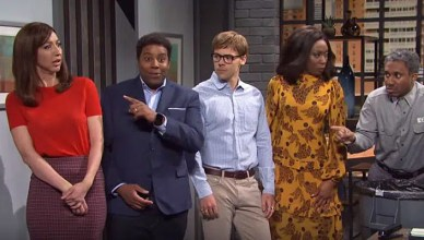 "SNL ""Lunch Run"" Popeyes Skit (Credit: NBC)"