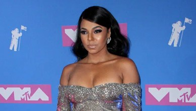 Singer Ashanti at the 2018 MTV Video Music Awards held at the Radio City Music Hall in New York, USA on August 20, 2018. – Stock Editorial Photography