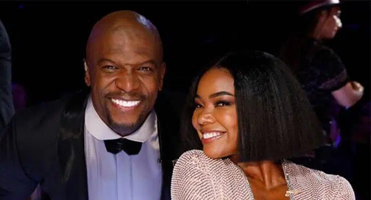 Terry Crews and Gabrielle Union (Credit: NBC)