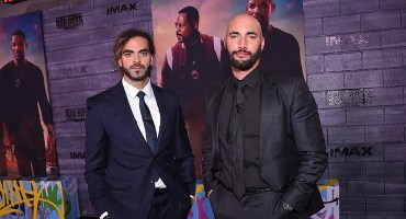 Co-directors Adil El Arbi and Bilall Fallah attend the Los Angeles Premiere of Bad Boys for Life on Jan. 14, 2020. (Credit: Eric Charbonneau)