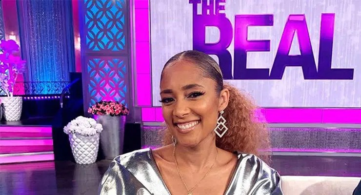 Amanda Seales Joins The Real. (Credit: The Real)