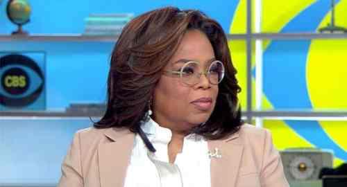 Oprah Winfrey on CBS This Morning (Credit: CBS)