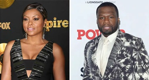 Taraji P Henson and 50 Cent (Credit: Deposit Photos)